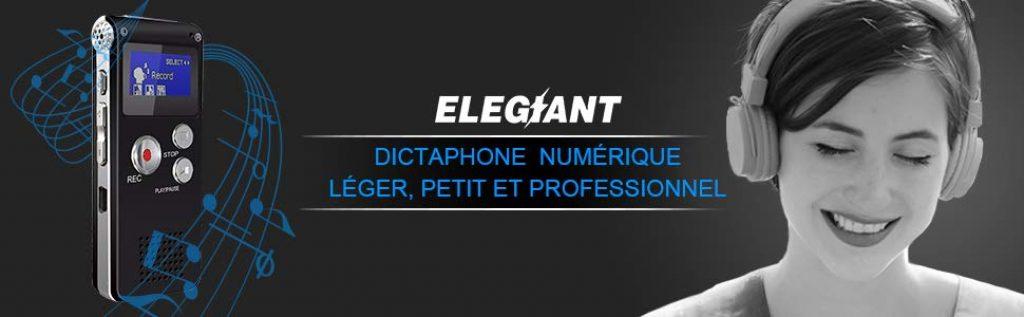 Avis et test complet du Dictaphone Elegiant